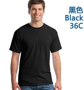 广州全棉黑色圆领文化衫订做厂家
