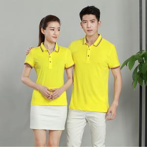 厂家定做男女装纯色百搭团体服T恤衫