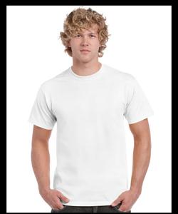 广州厂家定做白色精梳全棉文化衫